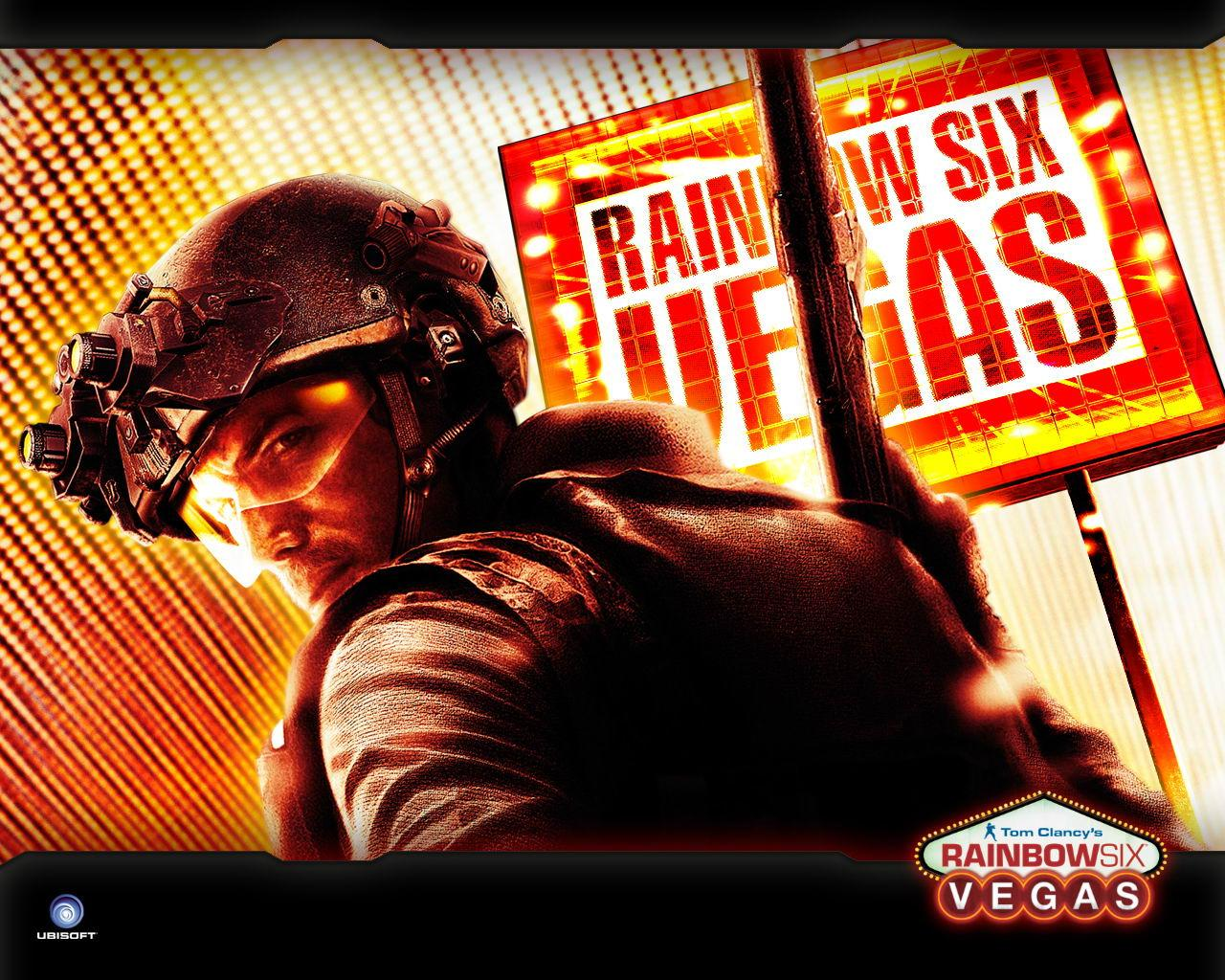 Обои Rainbow Six: Vegas 1280x1024