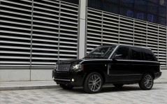 Range Rover Black Edition черный 2011 / 1920x1200