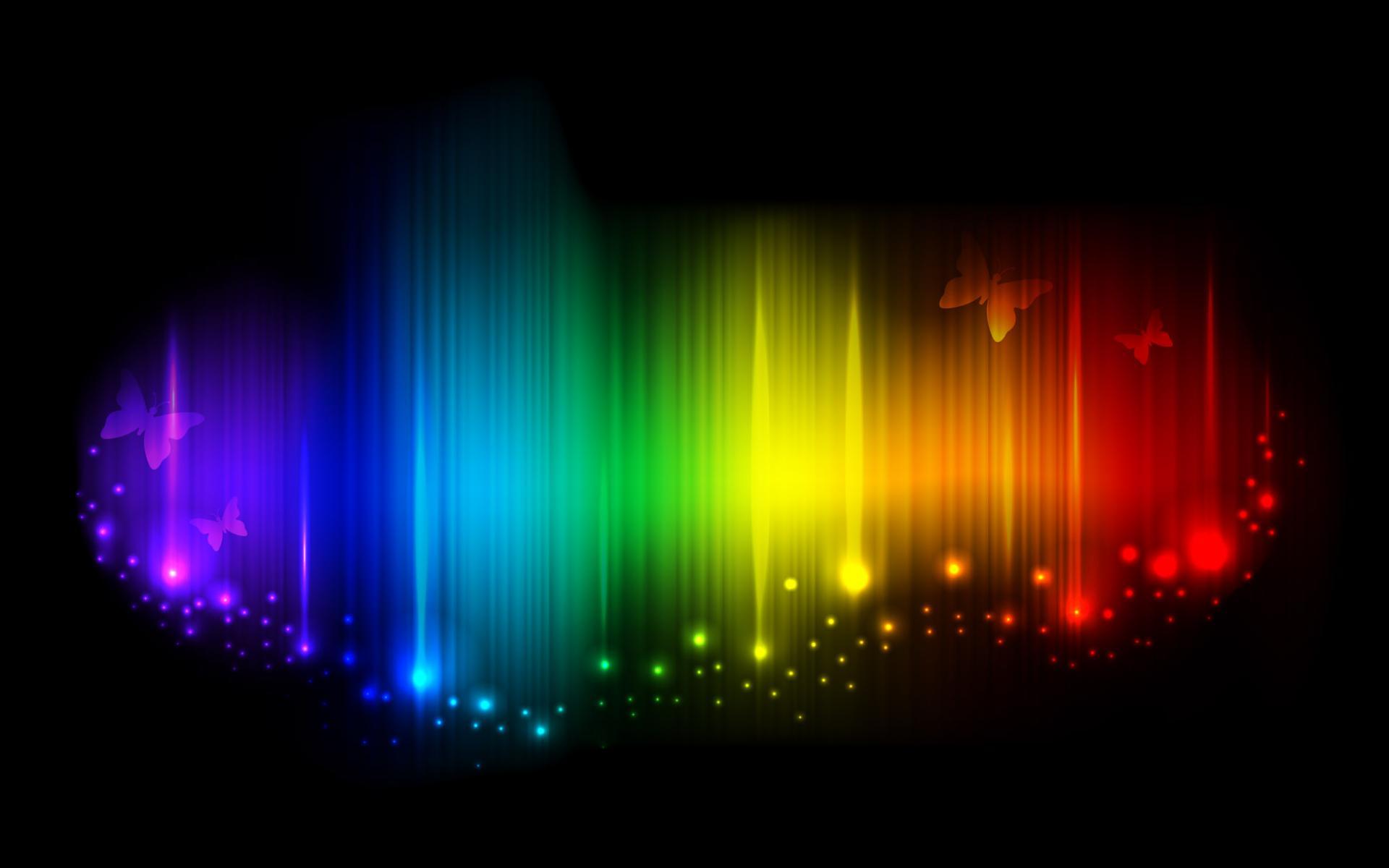 Разноцветная яркая абстракция 1920x1200
