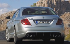Rear Angle Mercedes-Benz CL 63 / 1600x1200