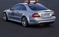 Rear Mercedes-Benz CLK 63 / 1600x1200