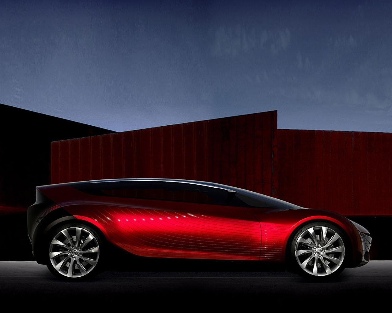 Обои Red Amazing Car 1280x1024
