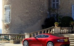 Red Aston Martin DBS / 1280x1024