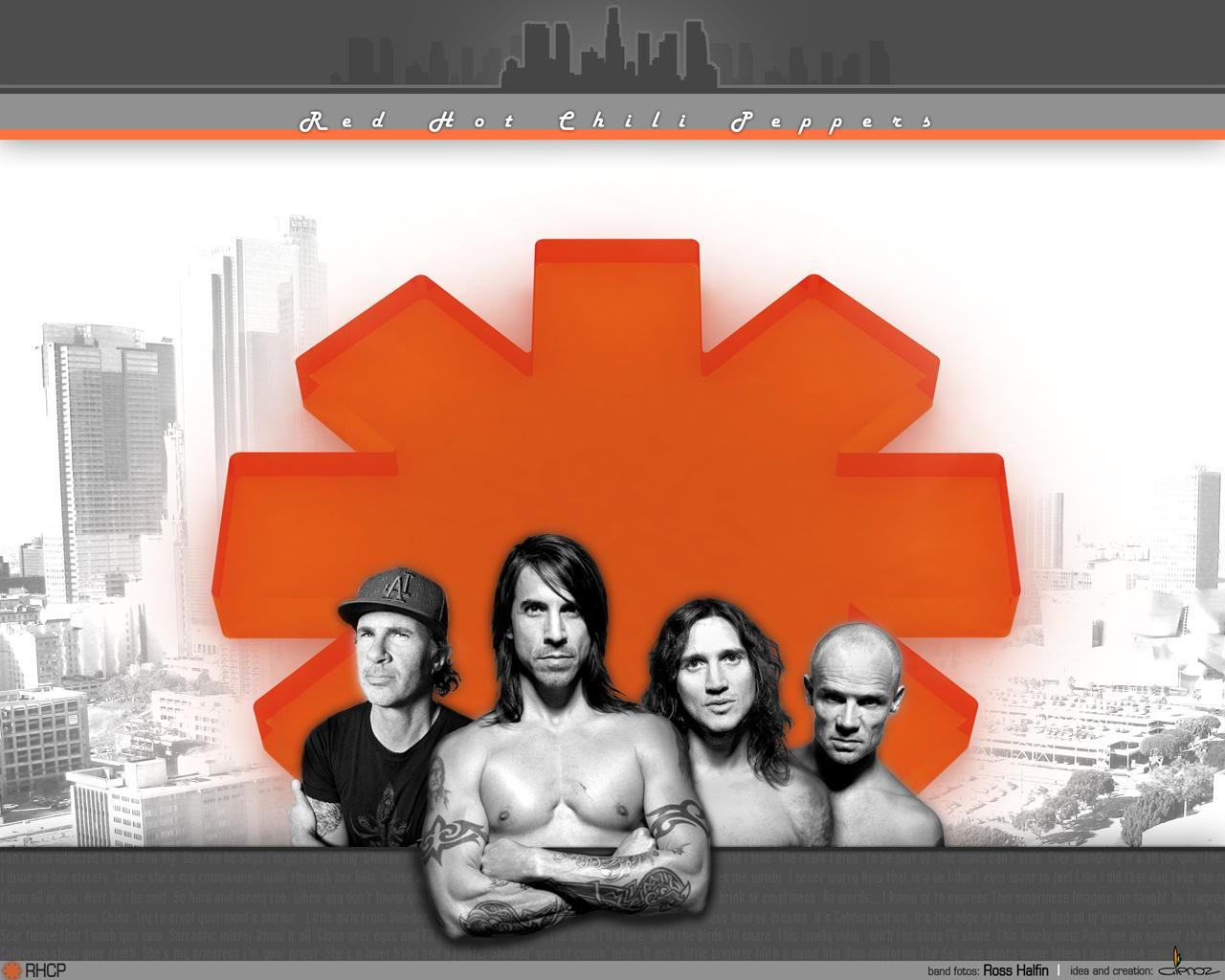 Обои Red Hot Chili Peppers 1280x1024