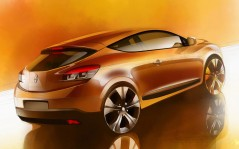 Renault megane-coupe new / 1920x1200