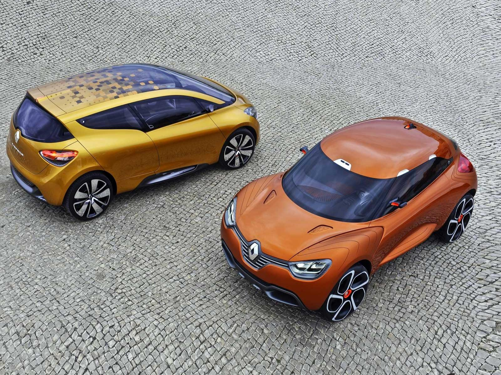 Обои Renault-R-Space-Concept-and-Renault-Captur-Concept 1600x1200