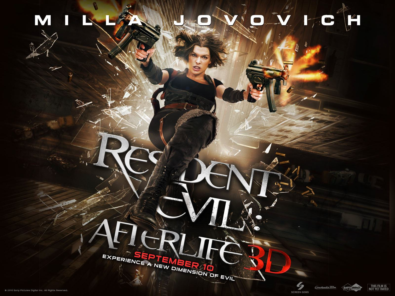 Обои Resident Evil: Afterlife 1600x1200
