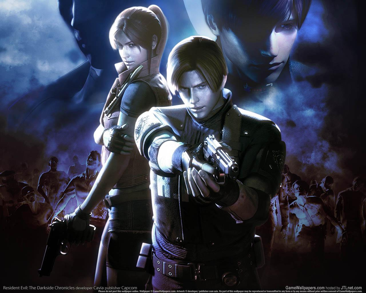 Обои Resident Evil The Darkside Chronicles 1280x1024