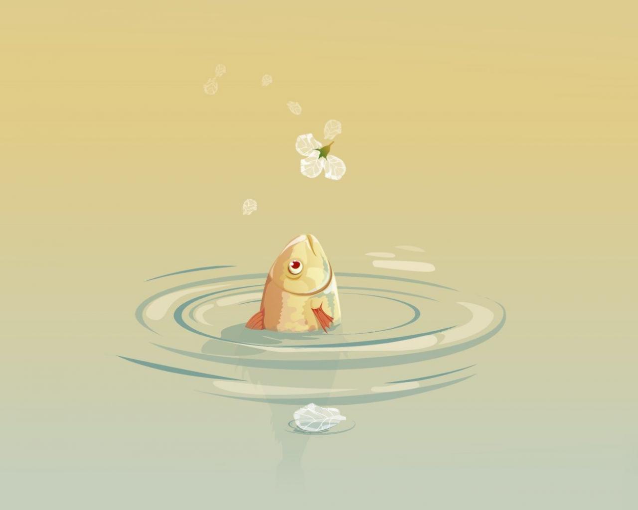 Рисунок рыбки обои 1280x1024.: http://hq-oboi.ru/wall/risunok_rybki_1280x1024