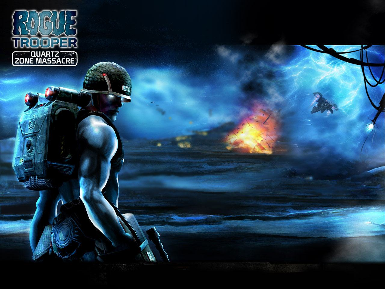 Обои Rogue Trooper: Quartz Zone Massacre 1280x960