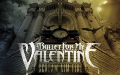 Рок группа Bullet for my Valentine, альбом scream aim fire / 1280x1024
