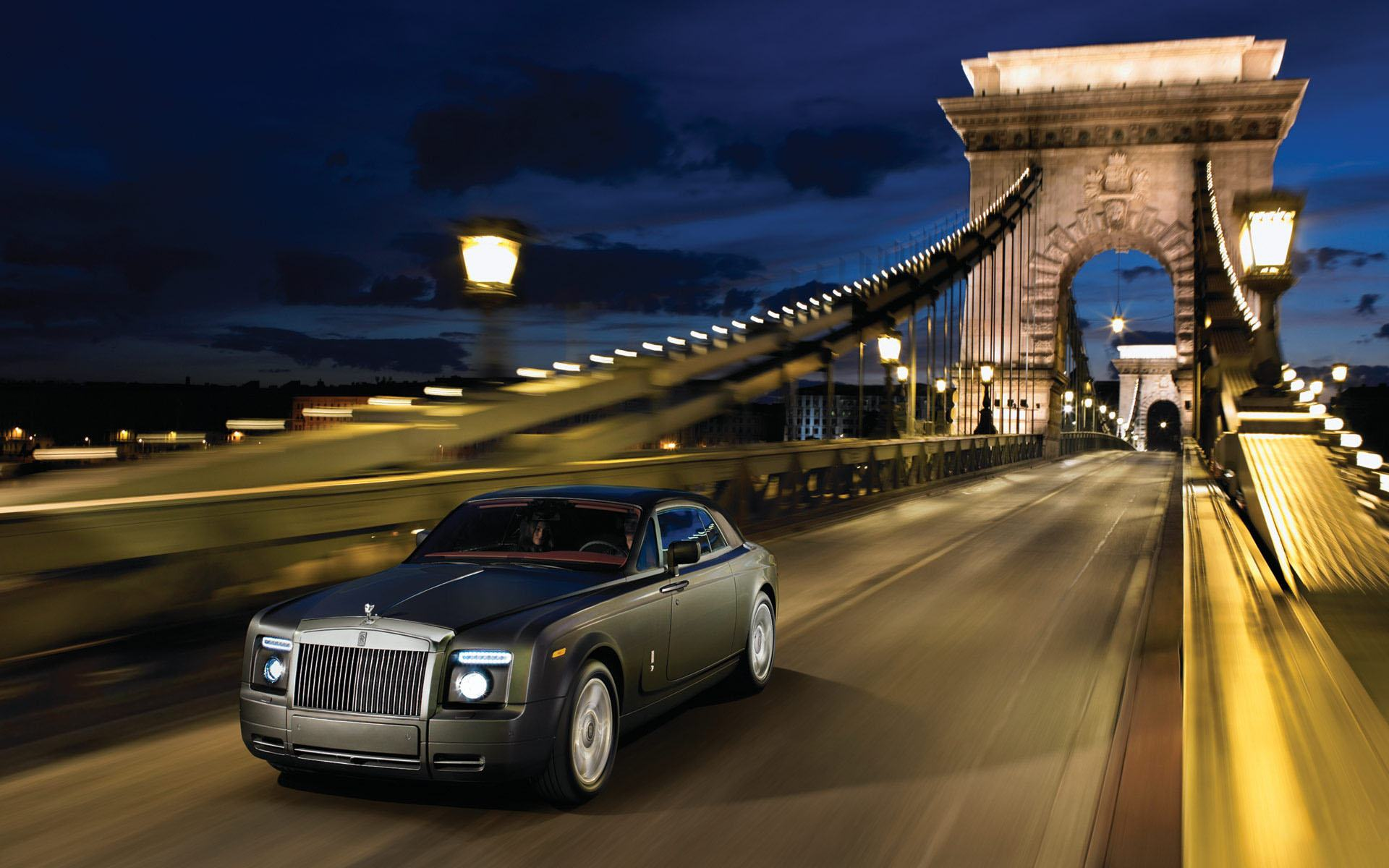 Обои Rolls Royce phantom coupe 1920x1200