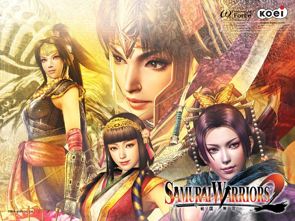 Обои Samurai Warriors 2 1024x768