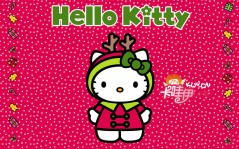 Санта Hello Kitty / 1600x1200