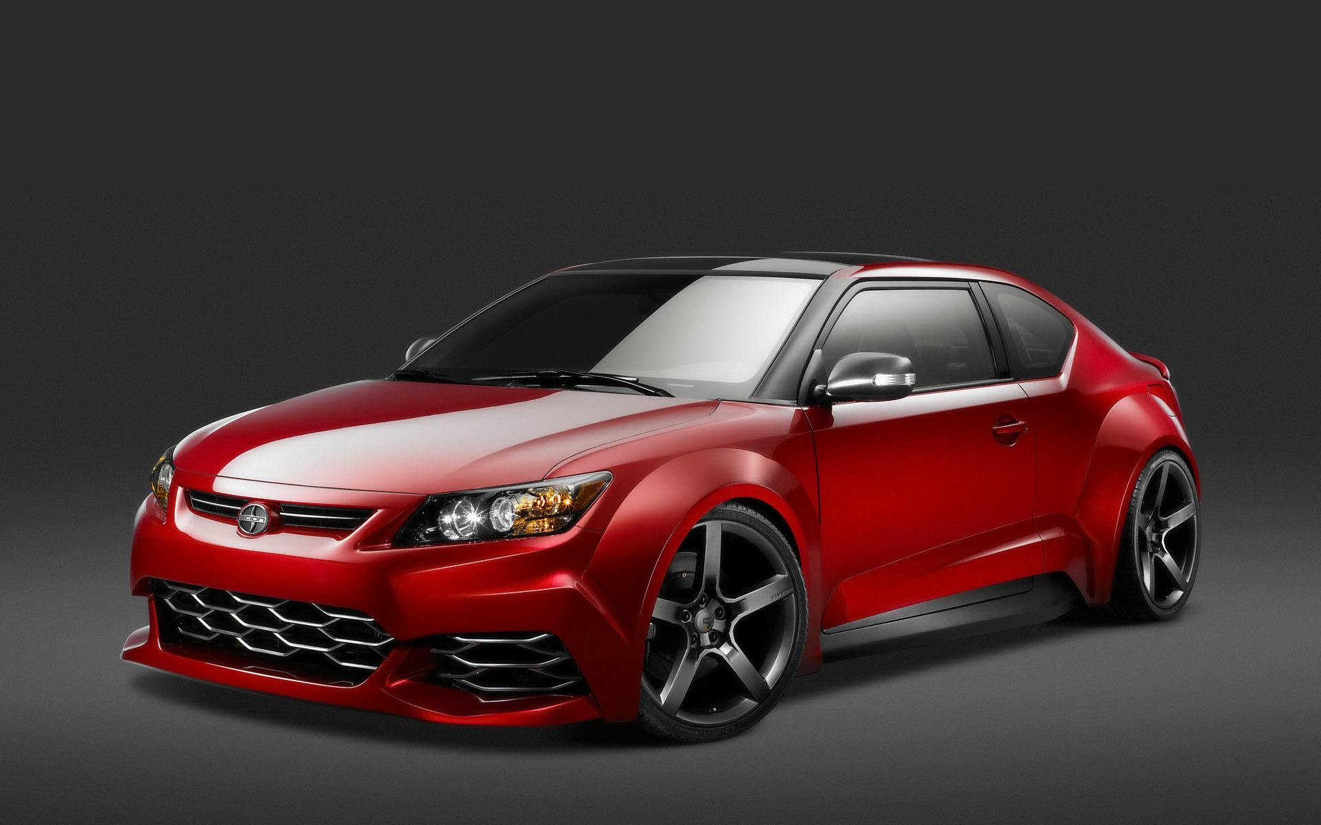 Обои Scion tC red 1920x1200