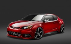Scion tC red / 1920x1200