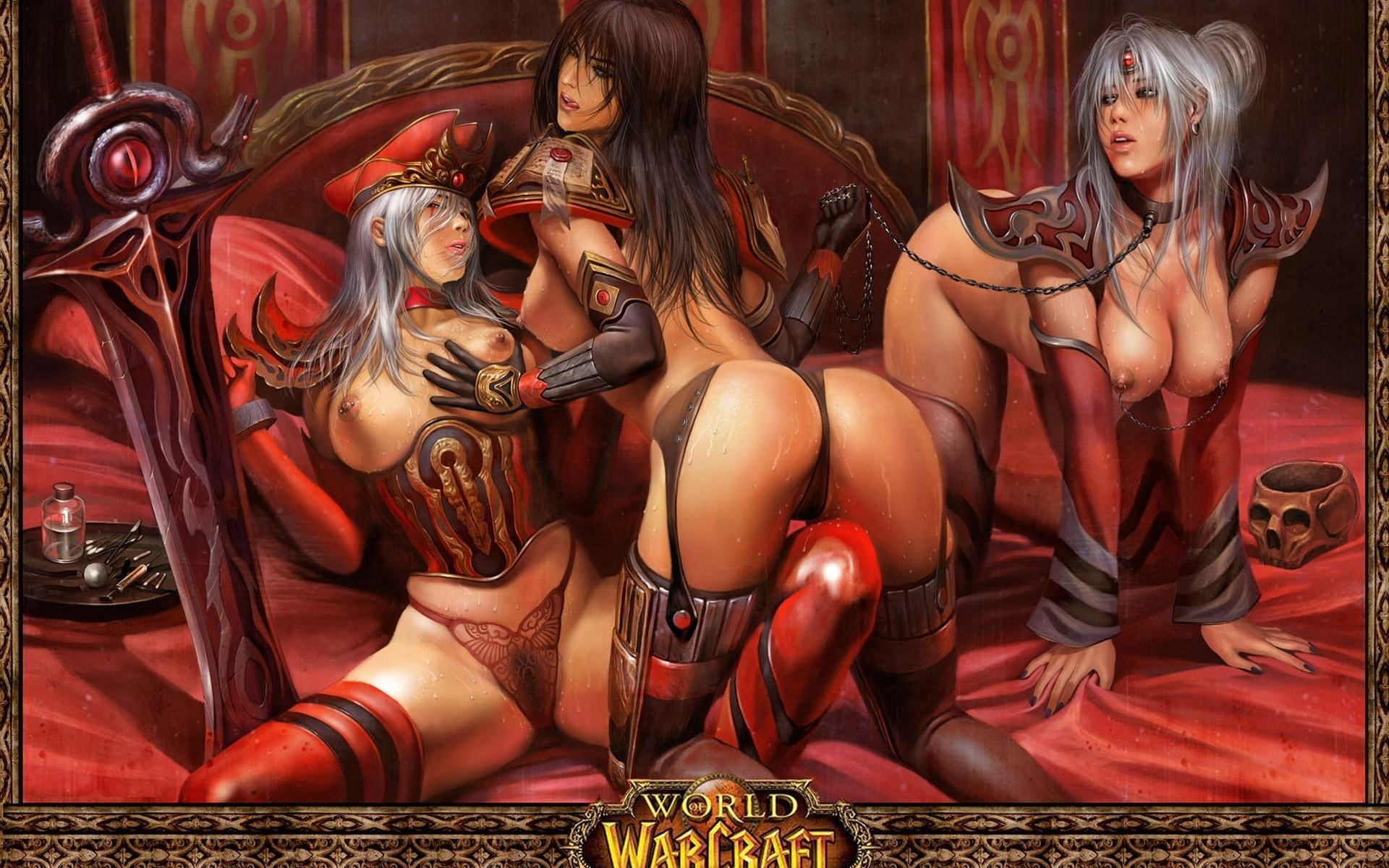 Warcraft adult art hentai comic