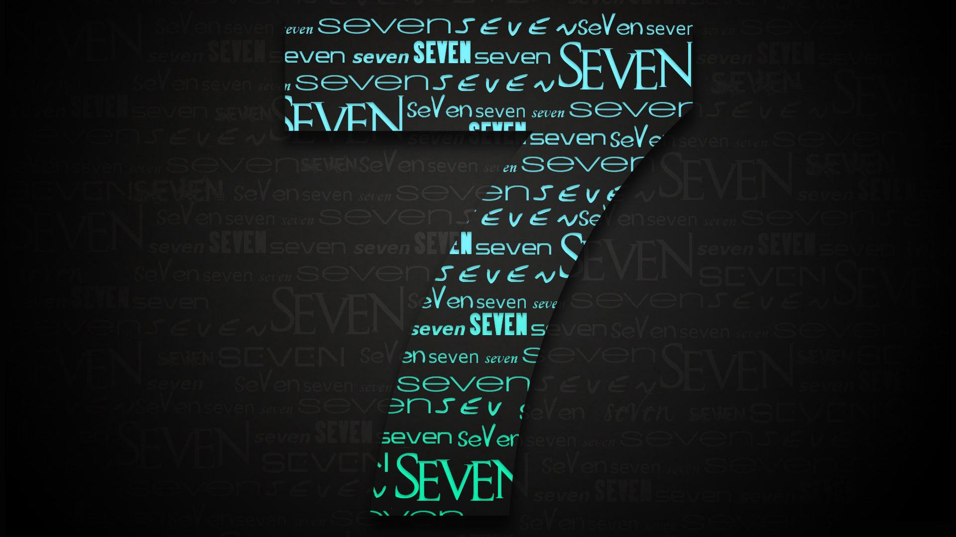 Обои Seven (Windows 7) 1920x1080