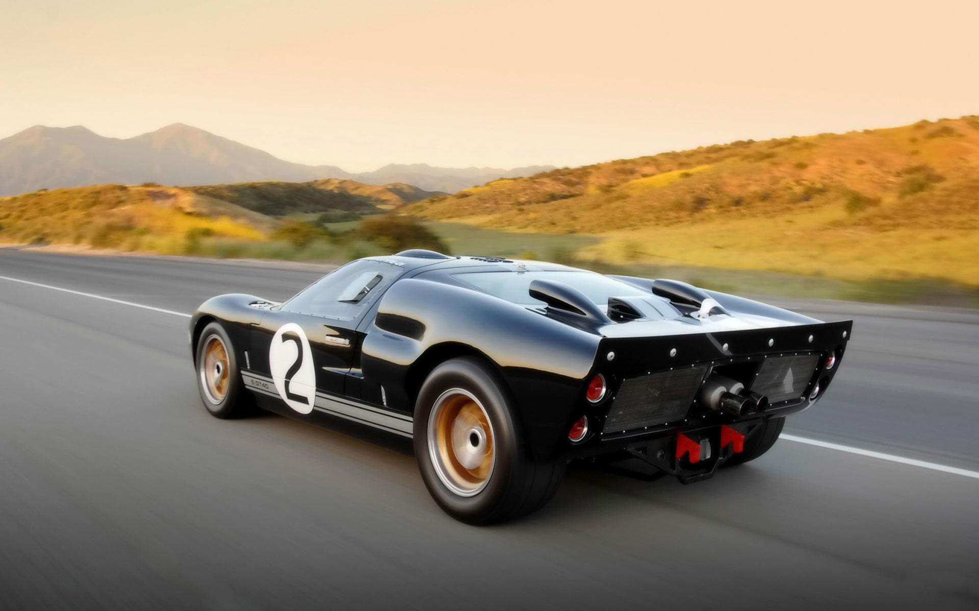 Обои Shelby 85th Commemorative GT40 1920x1200