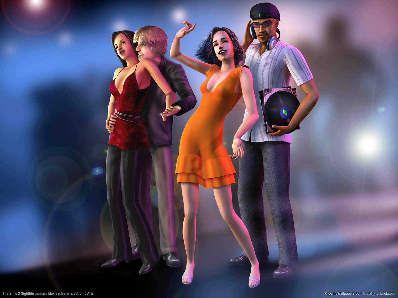 Обои Sims 2: Nightlife 1600x1200