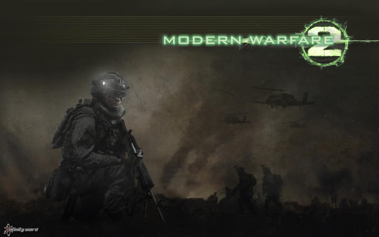 Скачать игровые Call of Duty: Modern Warfare 2 обои 1280x800.