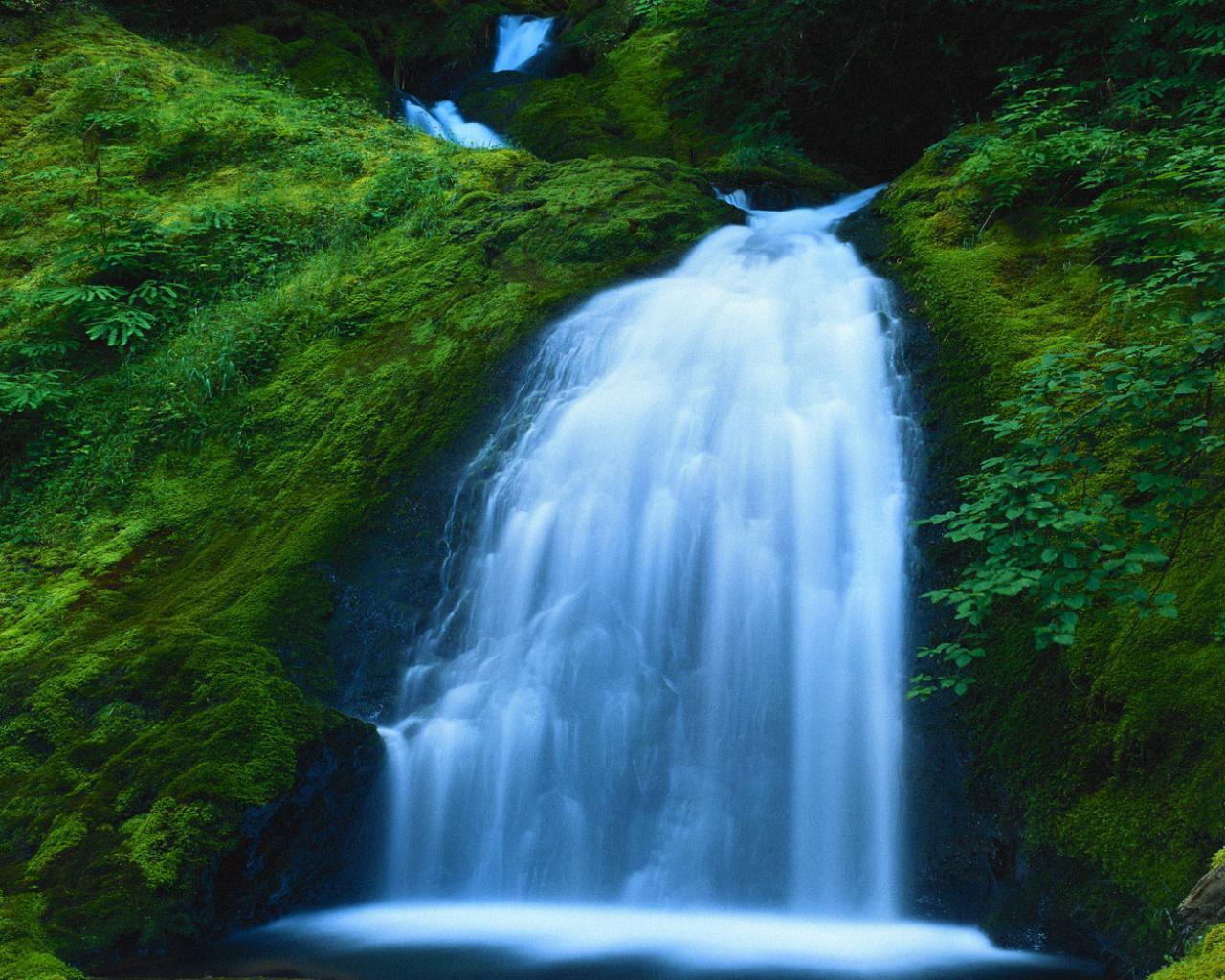 Скачать водопад с водопадами 1280x1024