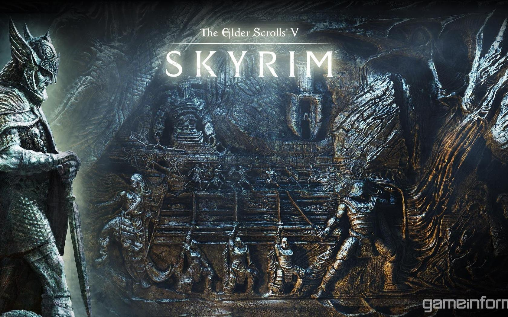 Обои SKYRIM - The elder scrolls V 1680x1050