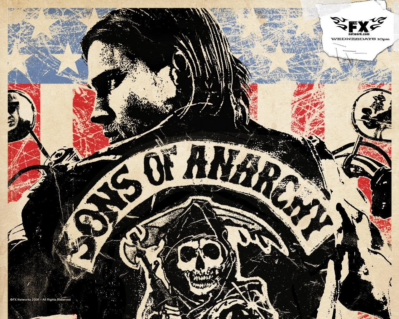 ���� Sons of Anarchy 1280x1024