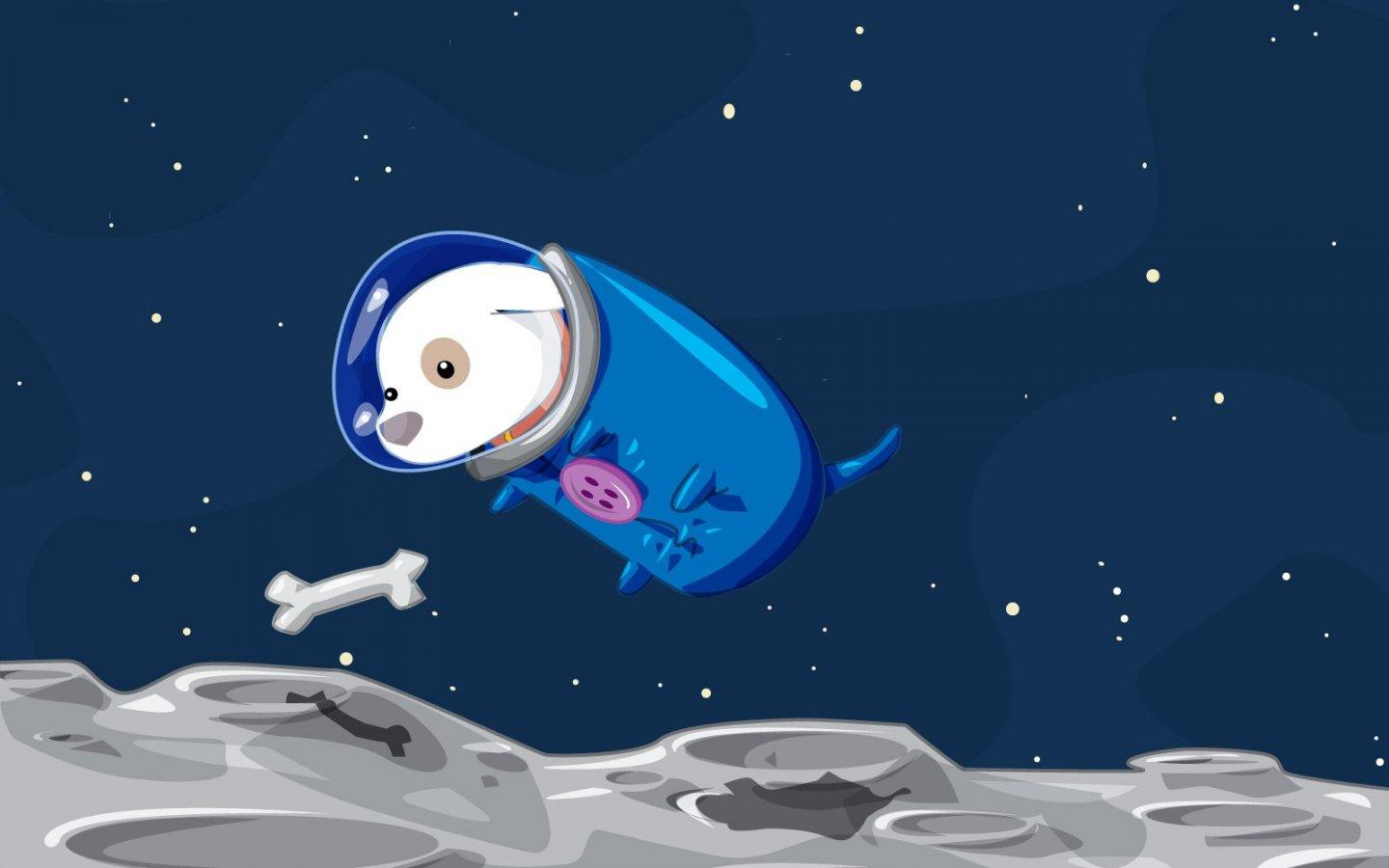 Обои Space doggy 1440x900