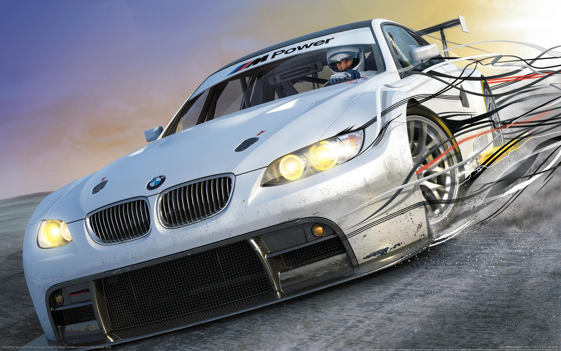 ���� ���������� ��� ����������� ���� Need for speed SHIFT 1920x1200