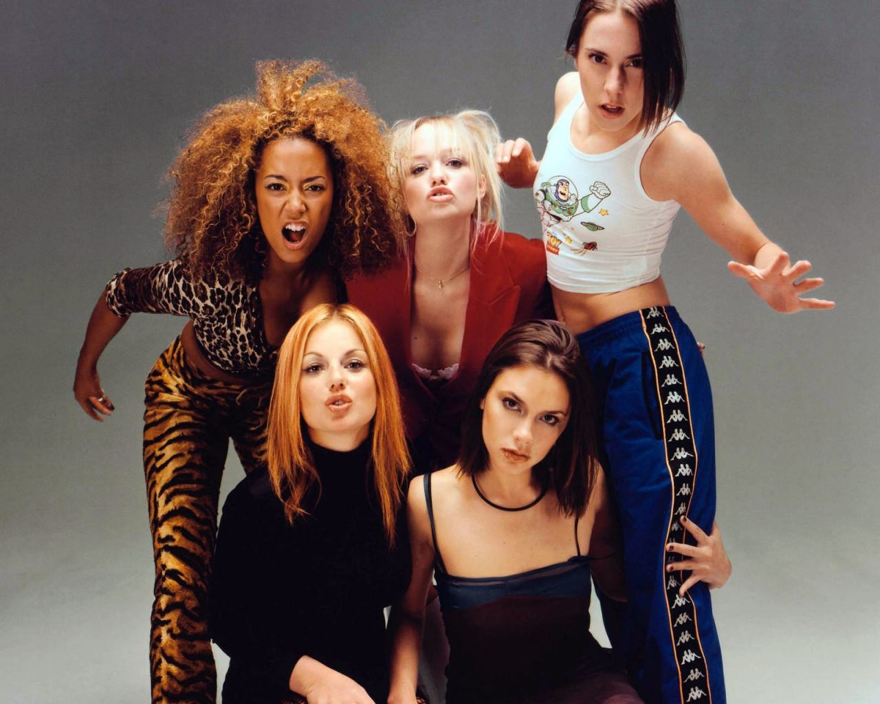 Обои Spice Girls 1280x1024