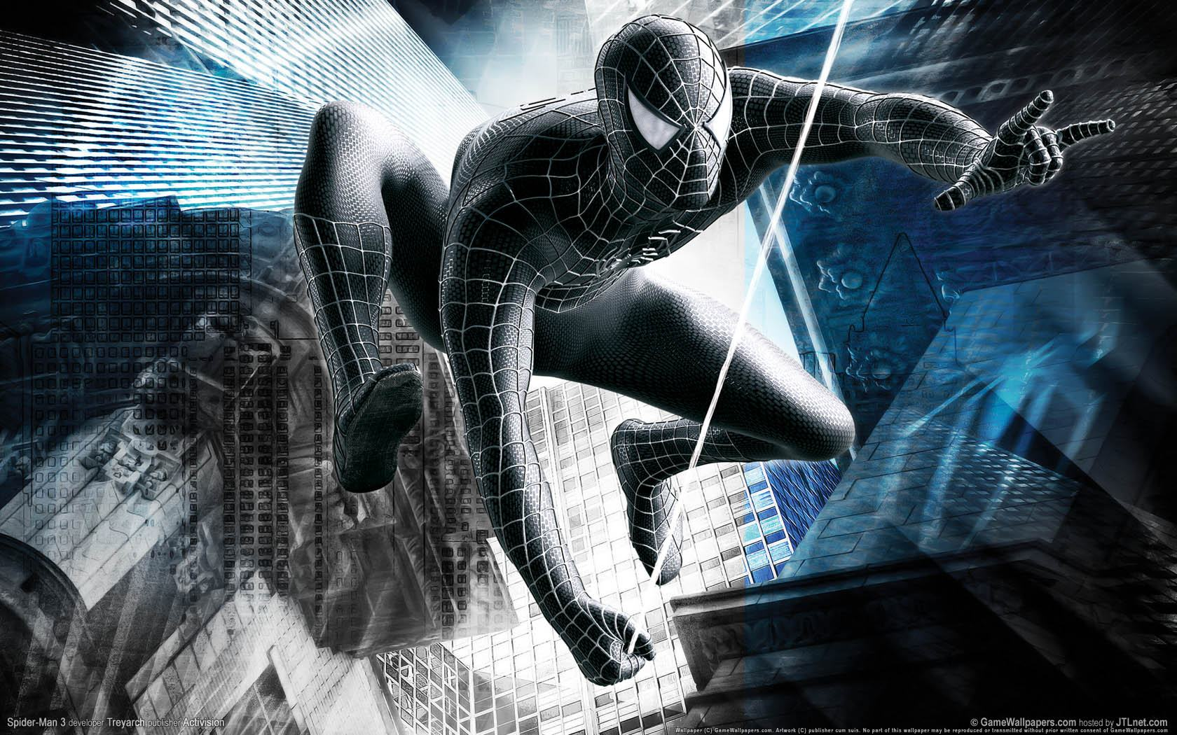 ���� Spider-Man 3: The Game 1680x1050