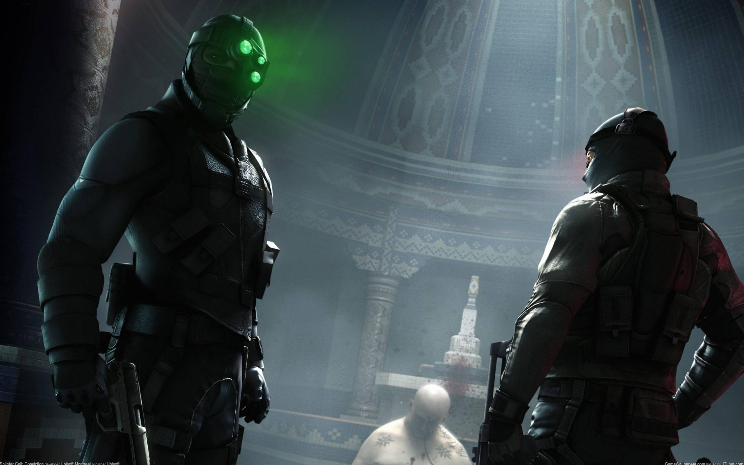 Обои Splinter Cell: Conviction 2560x1600