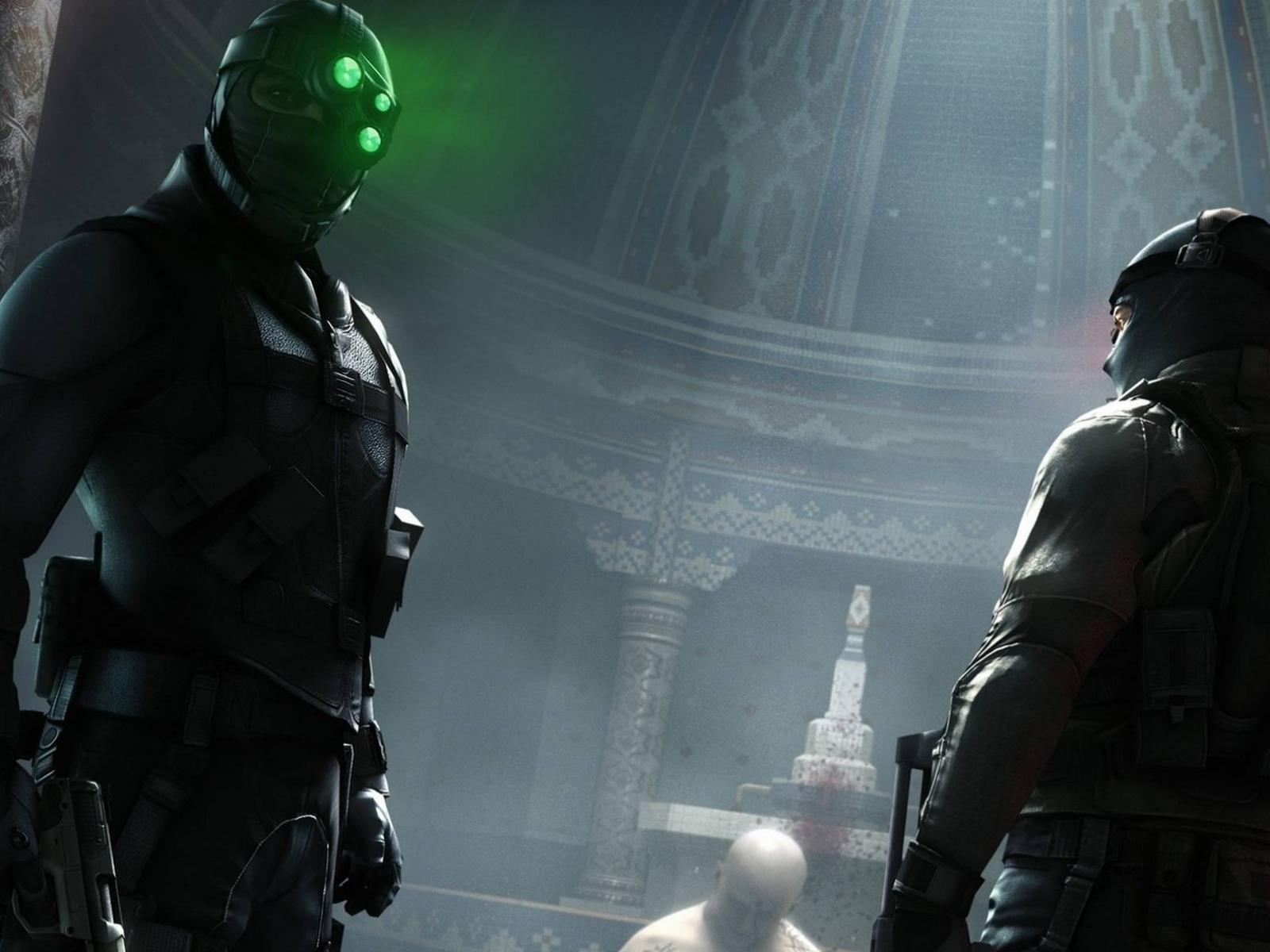 Обои Splinter Cell Conviction на задании 1600x1200