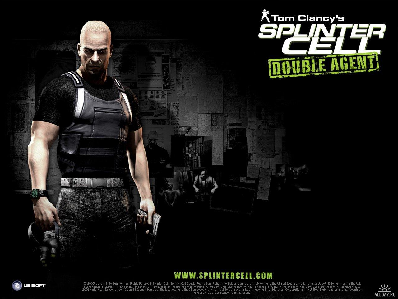 ���� Splinter Cell: Double Agent 1280x960