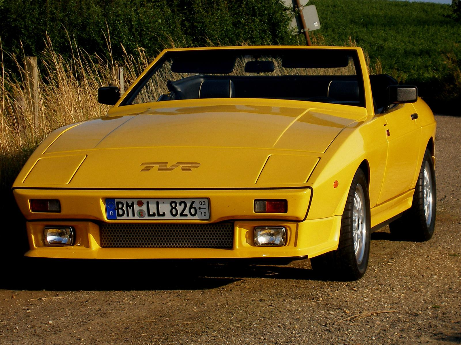 Обои Sport car TVR old 1600x1200