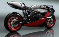 Спортивный мотоцикл будущего обои