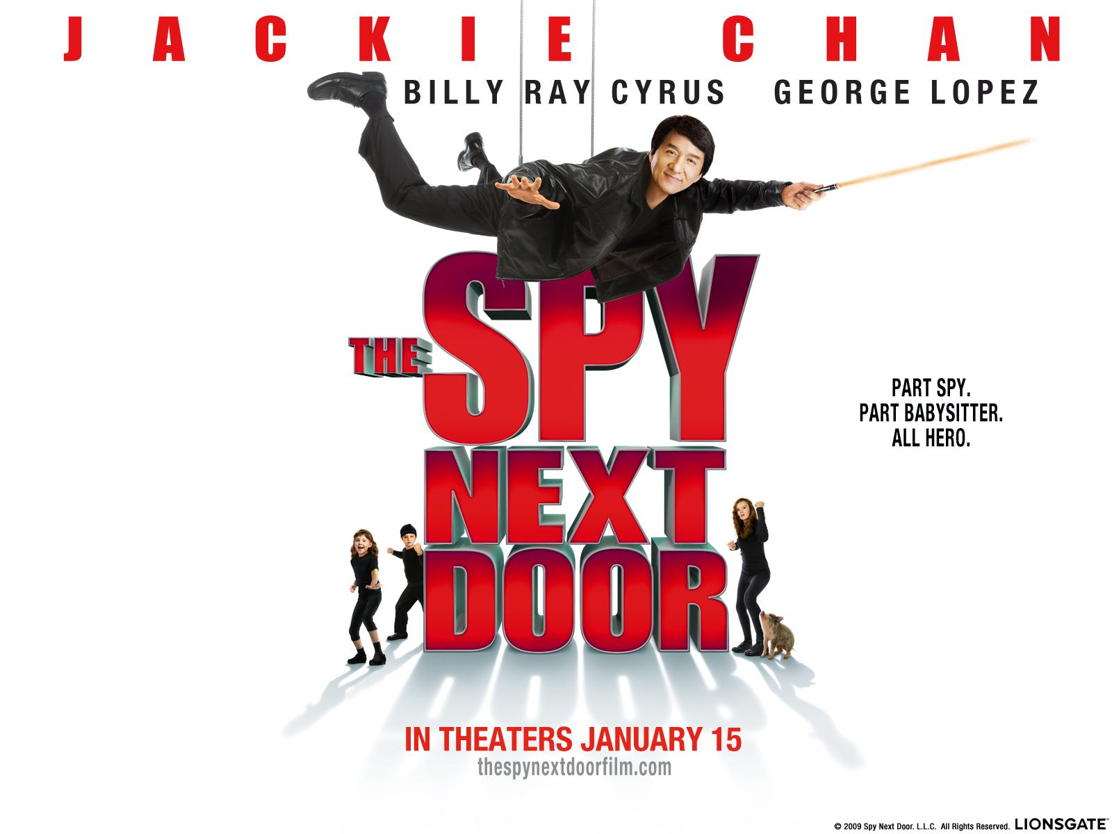 Обои Spy Next Door 1600x1200
