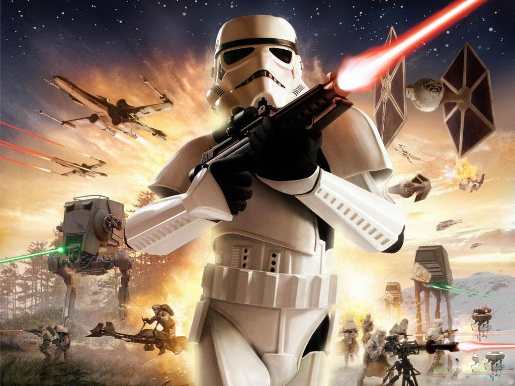 Обои Star Wars Battlefront 1024x768