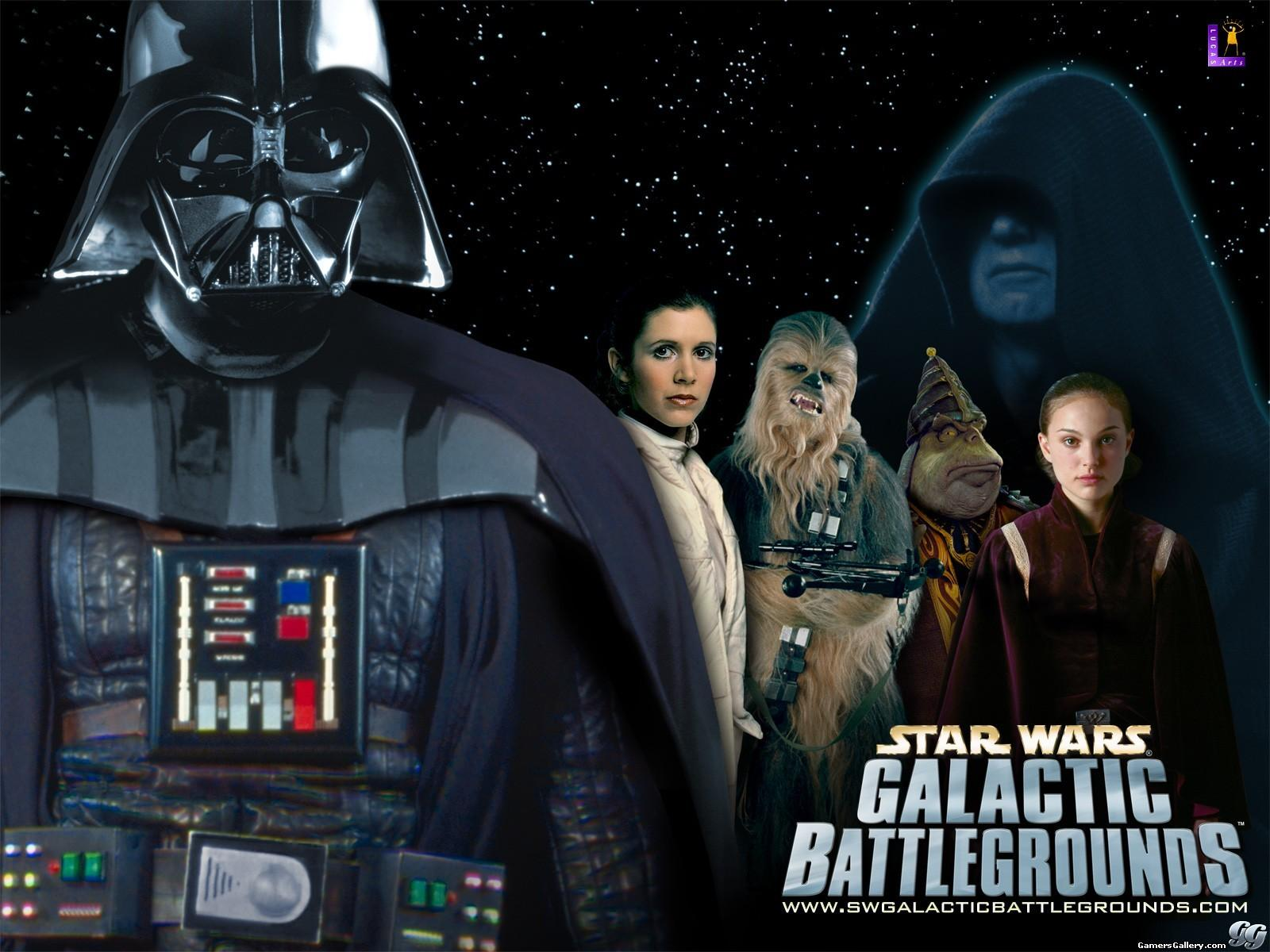 Обои Star Wars: Galactic BattleGrounds 1600x1200