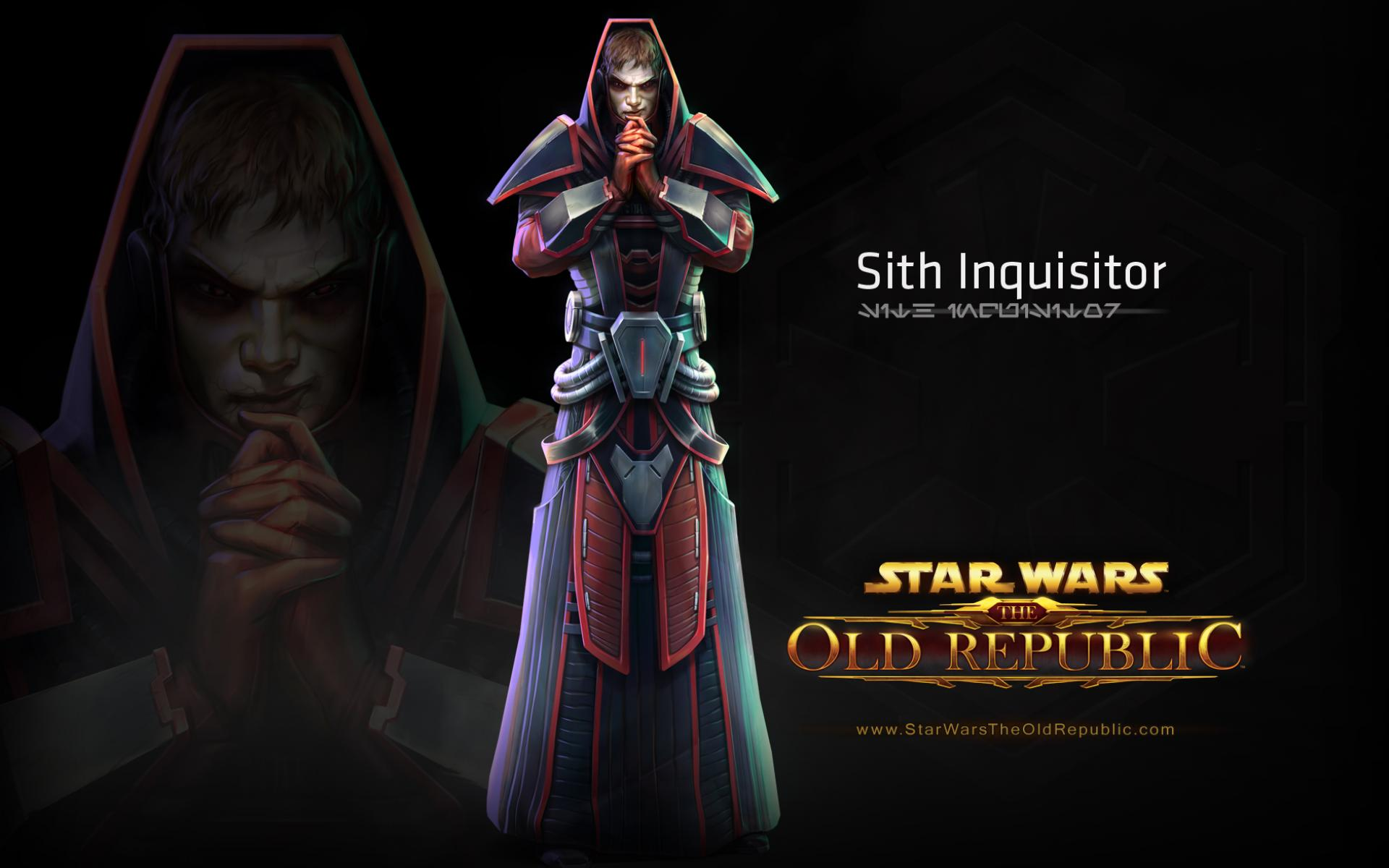 Обои Star Wars Old Republic - Sith Inquisitir, из игры 1920 1920x1200