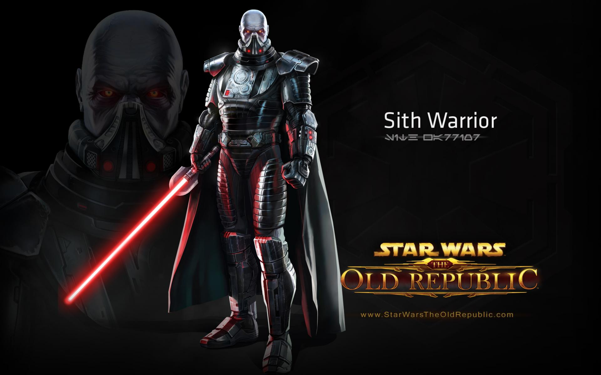 ���� Star Wars Old Republic - Sith Warrior, ������� 1920x1200