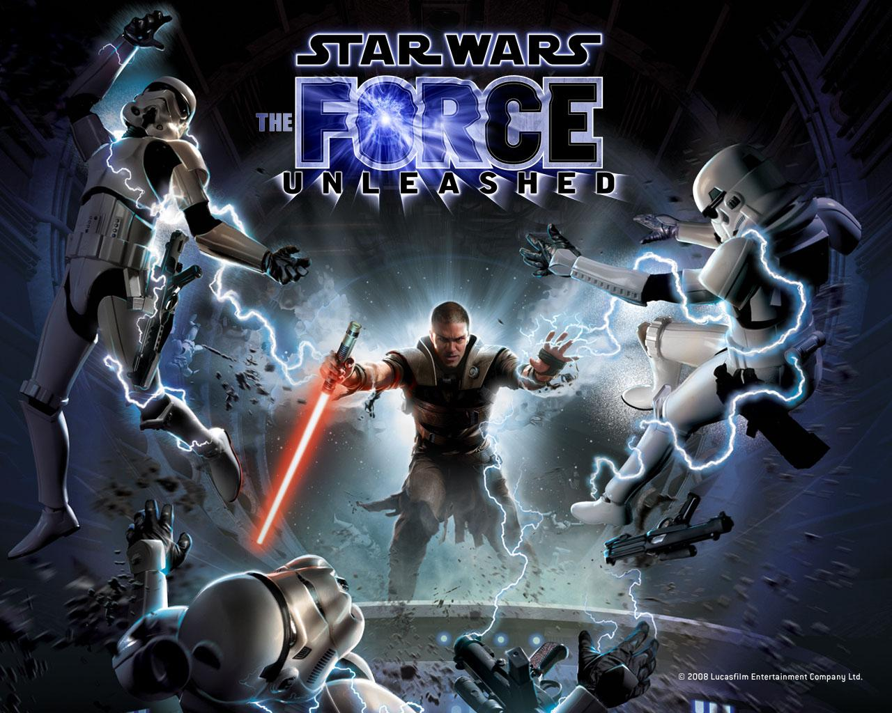 Обои Star Wars: The Force Unleashed 1280x1024