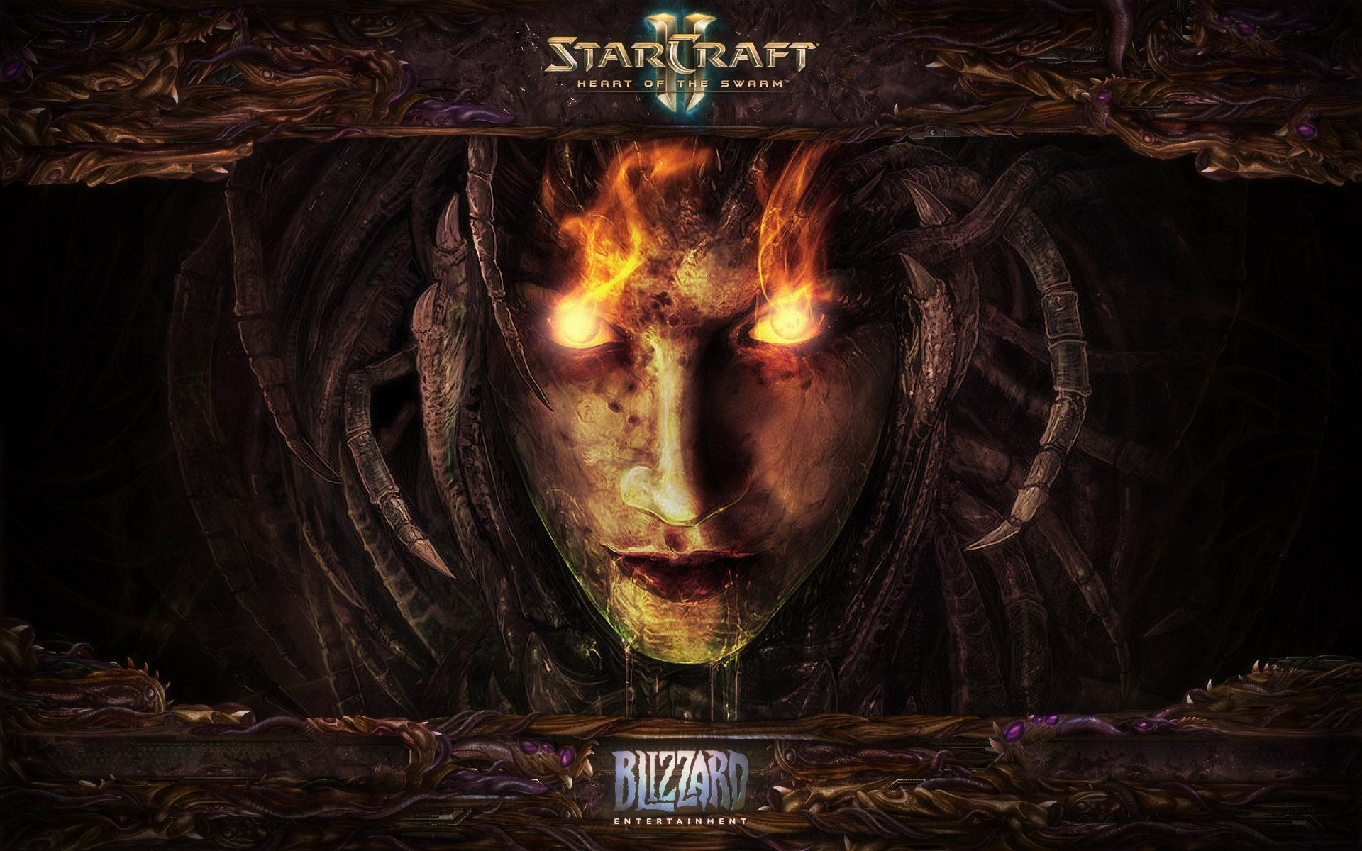 ���� Starcraft 2: heart of the swarm 1920x1200