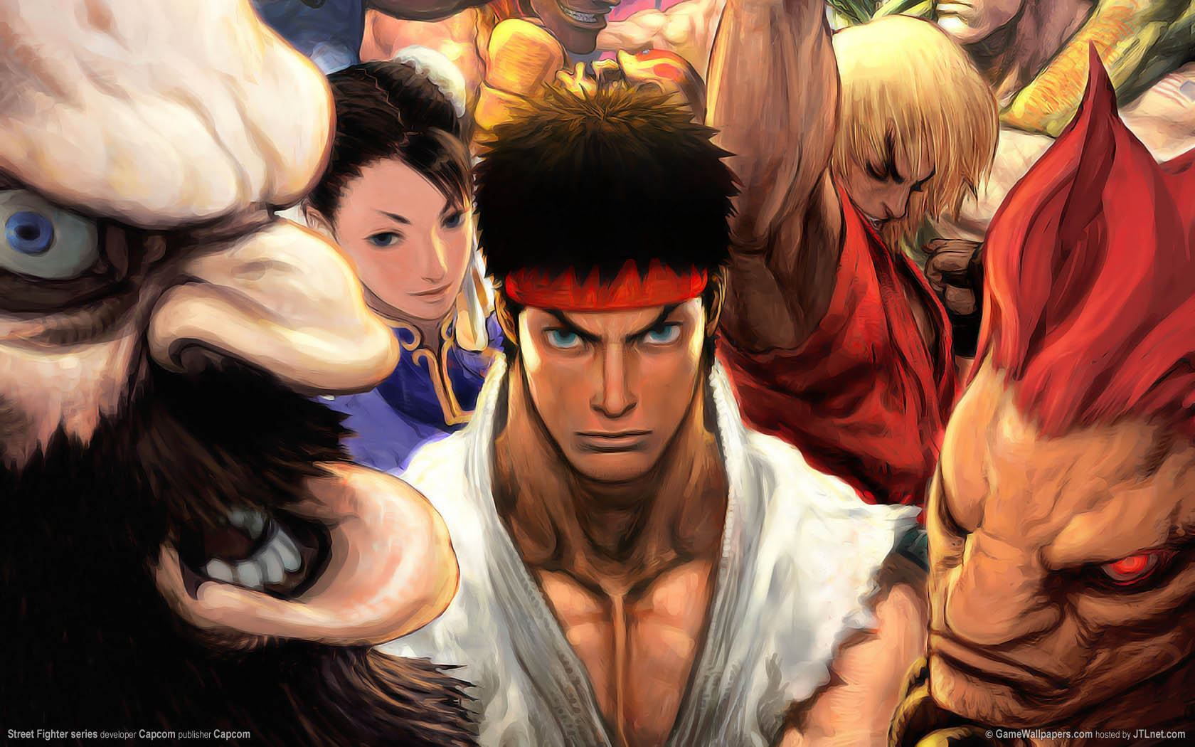 Обои Street Fighter series 1680x1050