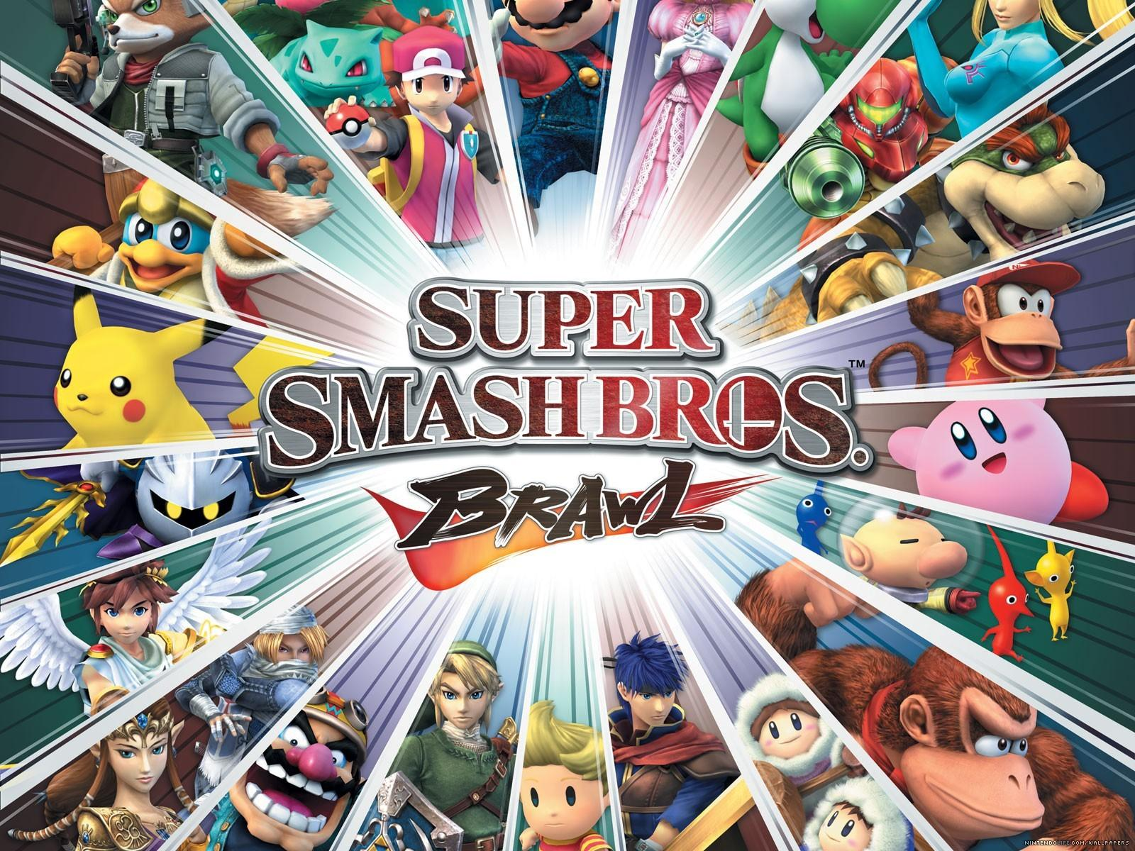 Обои Super Smash Bros Brawl 1600x1200