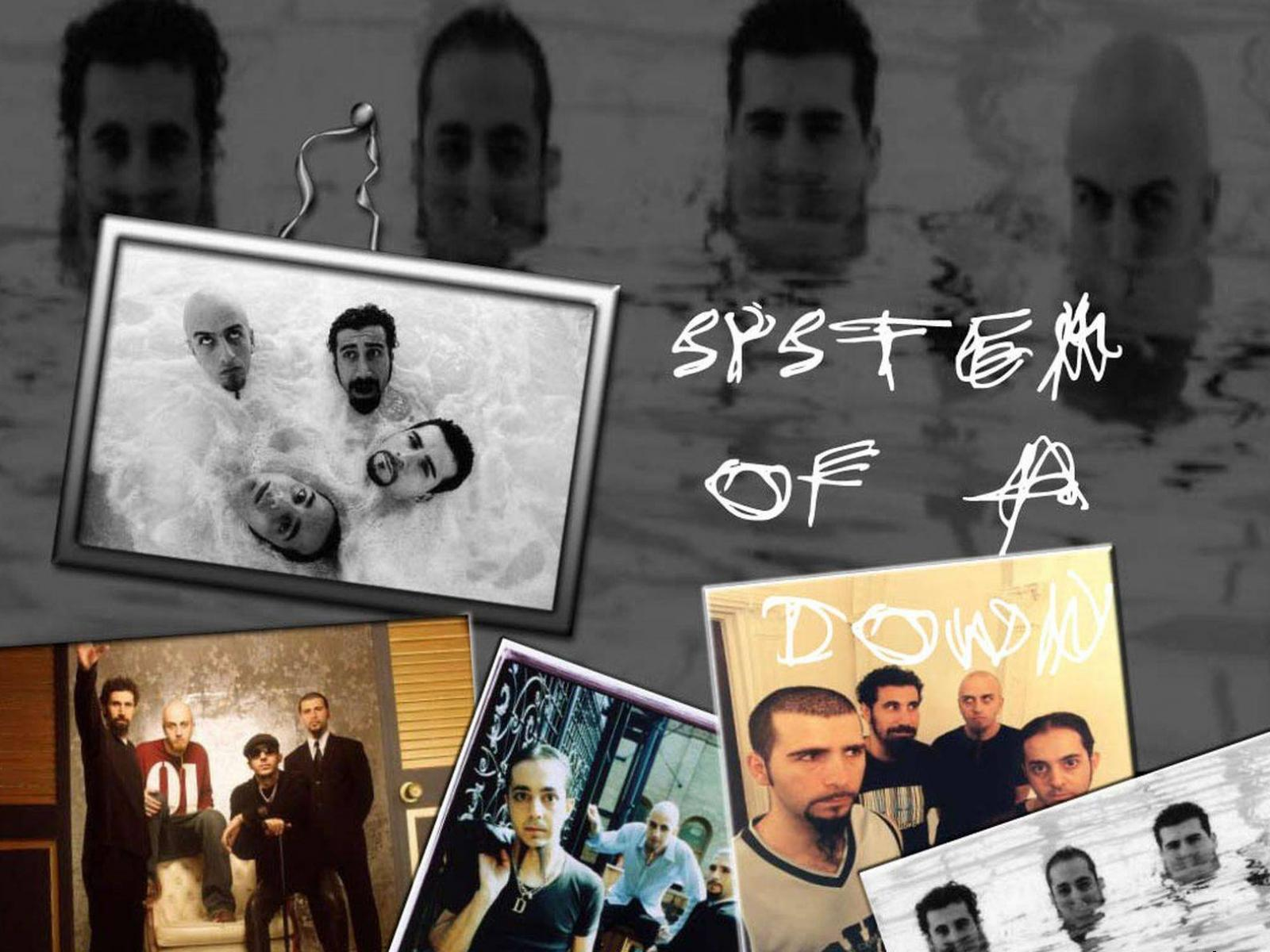 Обои System of a down 1600x1200