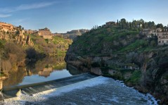 Tagus River Panorama - Toledo, Spain -(Part 2) / 1920x1080