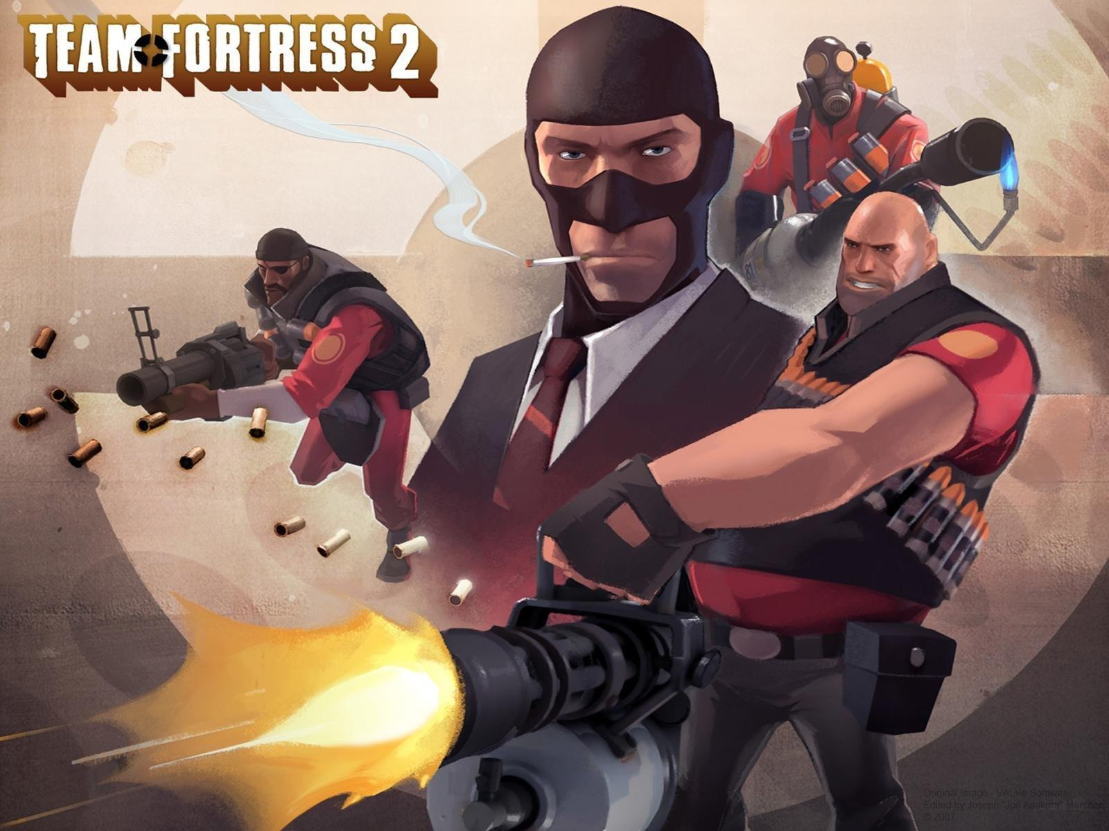 Обои Team Fortress 2 1600x1200