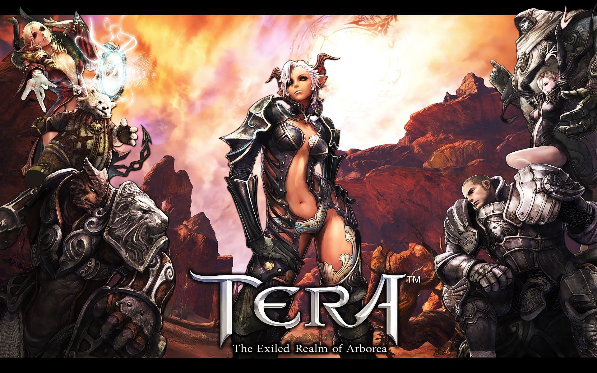 Обои TERA The Exiled Realm of Arborea 1920x1200